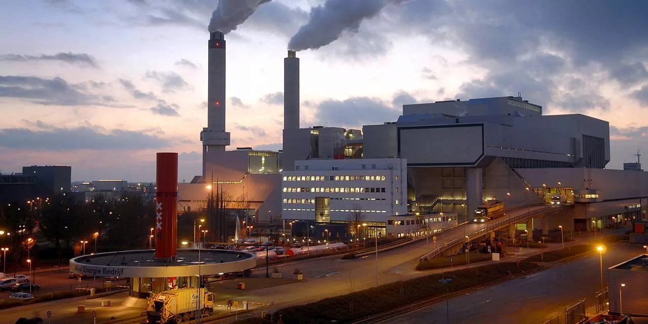 Картинка мусоросжигательный завод